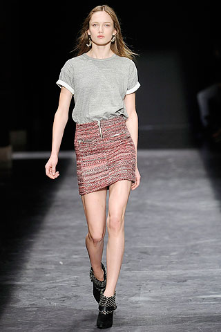 Okari t-shirt with Jamina skirt